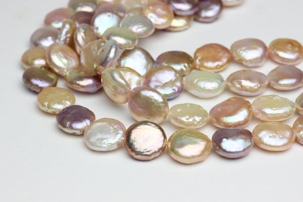 Small Chinese freshwater coin pearls