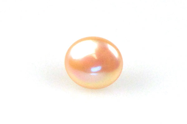 tangerine domed coin pearl