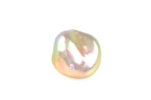 rainbow baroque freshwater pearl