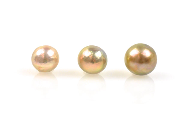3 pearl lot of graduating japan kasumi pearls