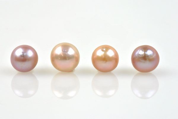 4 pearl lot of ombre' japan kasumi pearls