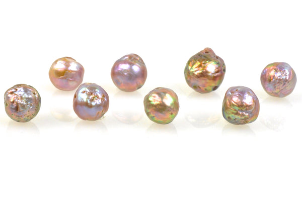 8 pearl lot of deep ripple japan kasumi pearls
