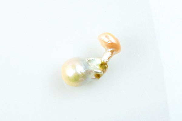 decorated flame baroque pearl