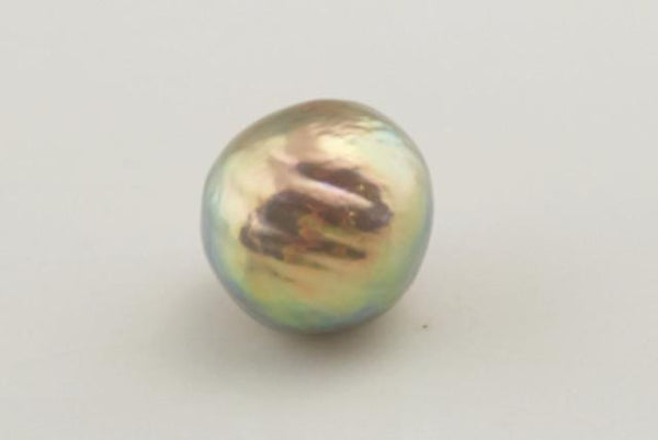 metallic luster rainbow Chinese pearl