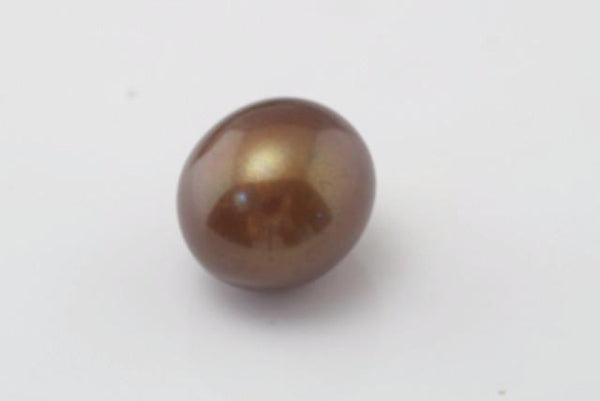 dyed chocolate Chinese pearl