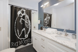 Rat Mother Shower Curtains