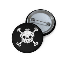 Load image into Gallery viewer, Pug Pirate Pin Button