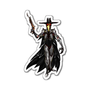 Plague Doctor Magnet