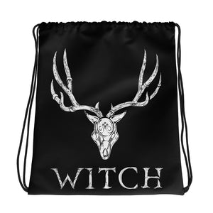 Witch Drawstring bag