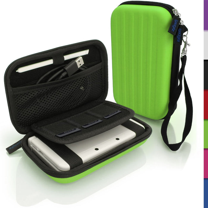 iGadgitz EVA Hard Case Cover Compatible with Nintendo 3DS (NOT FOR 3DS XL)