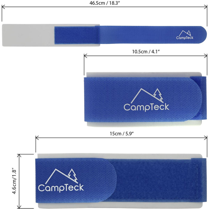 Ski Straps, Ski Ties, Ski Bands Fasteners for Skis for Easy Carrying - 1 Pair (2 straps)