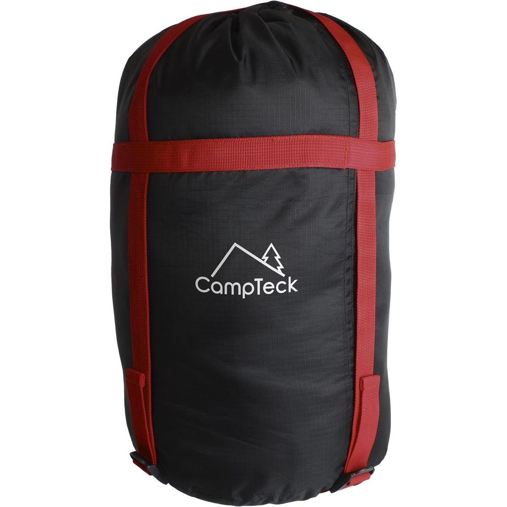 CampTeck U6954 - Lightweight Compression Bag Stuff Sack Water Resistant Compression Sack for Sleeping Bag, Clothes Storage, Travel, Camping, Outdoor - Black