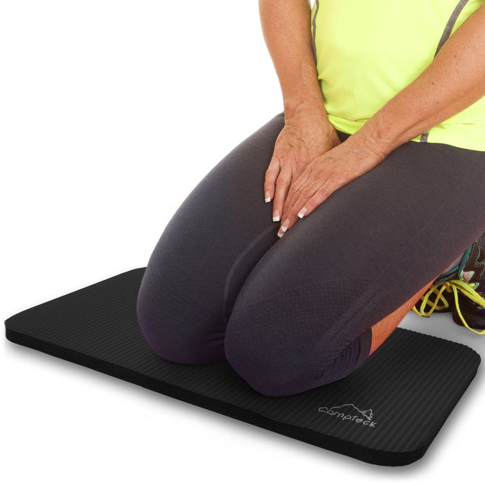 CampTeck Non-Slip Yoga Knee Pad Soft Foam Yoga Knee Mat for Fitness, Exercise, Workout, Gym, Pilates etc.