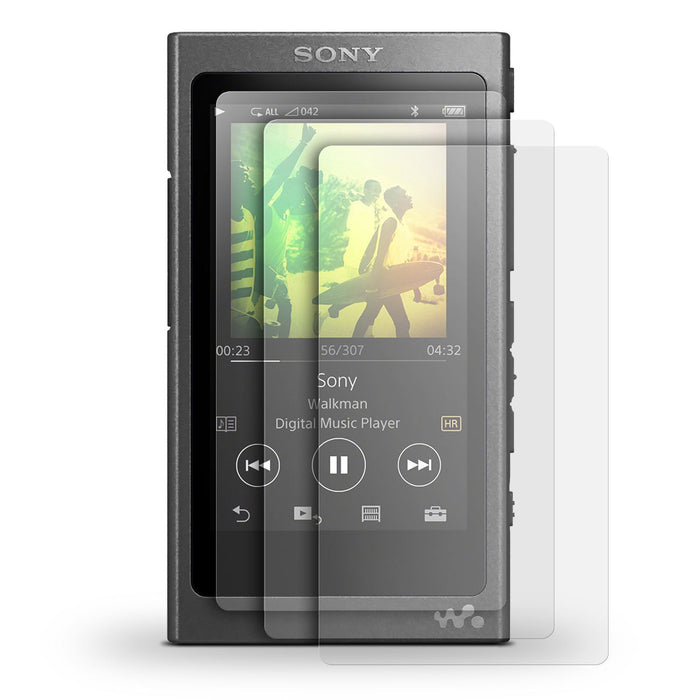 iGadgitz 3x Pack of Screen Protector for Sony Walkman NW-A35 NW-A40 NW-A45 MP3 Player Clear Protective Film
