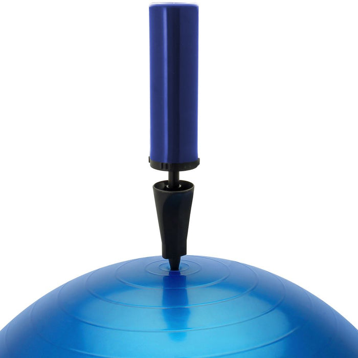 CampTeck U6764 Exercise Ball 65cm Swiss Ball with Hand Pump for Fitness, Gym, Yoga, Pilates, CrossFit etc.