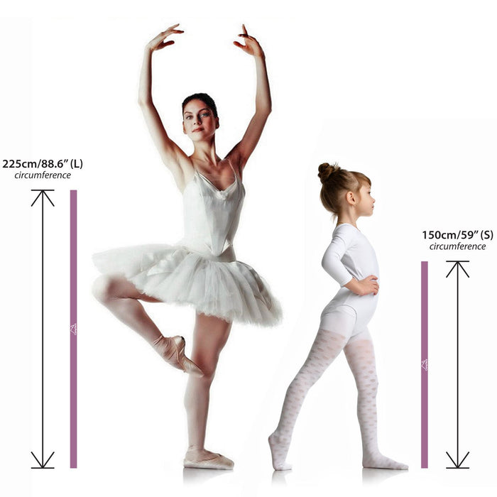 CampTeck Elastic Stretch Band for Ballet Dance Yoga Aerobics Workout Pilates Flexibility etc. – Multi Sizes & Colours