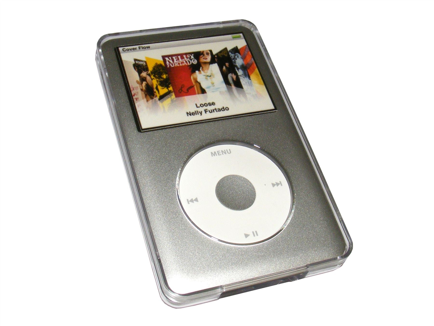 iGadgitz Crystal Hard Case Cover for Apple iPod Classic 80GB, 120GB & latest 160GB launched Sept 09 + Belt Clip