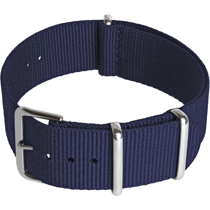 CampTeck Nylon Replacement Military Watch Strap (widths 18|20|22|24mm) with Stainless Steel Pin Buckle for Spring Bar Watches