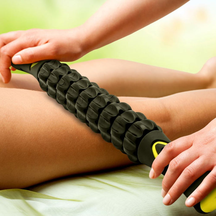 CampTeck Muscle Roller Stick Sport Massage Hand Tool for Releasing Cramps, Legs Lactic Acid, Back Tightness Knots