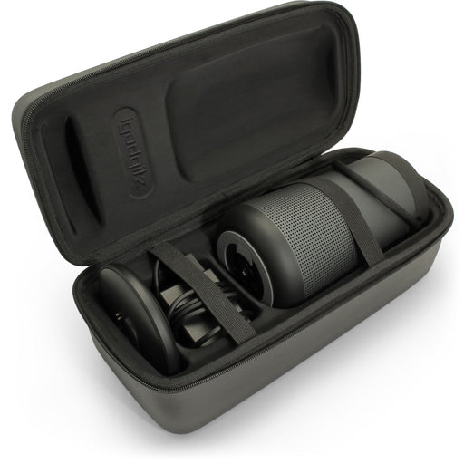 iGadgitz Black EVA Carrying Hard Travel Case Cover for Bose SoundLink Revolve+ Plus Bluetooth Speaker