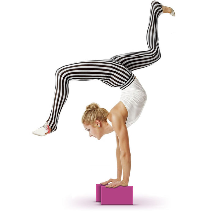 CampTeck EVA Foam Yoga Block Lightweight & Portable for Pilates, Fitness Exercise, Strength, Balance and Flexibility