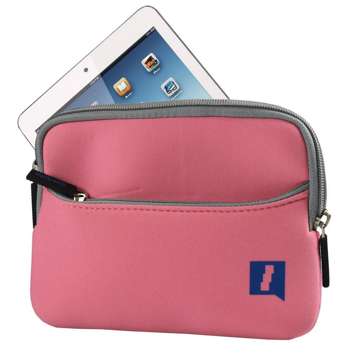 iGadgitz Pink Neoprene Case with Pocket for Apple iPad Mini 1st Gen & 2nd Gen with Retina Display (launched Oct 13)
