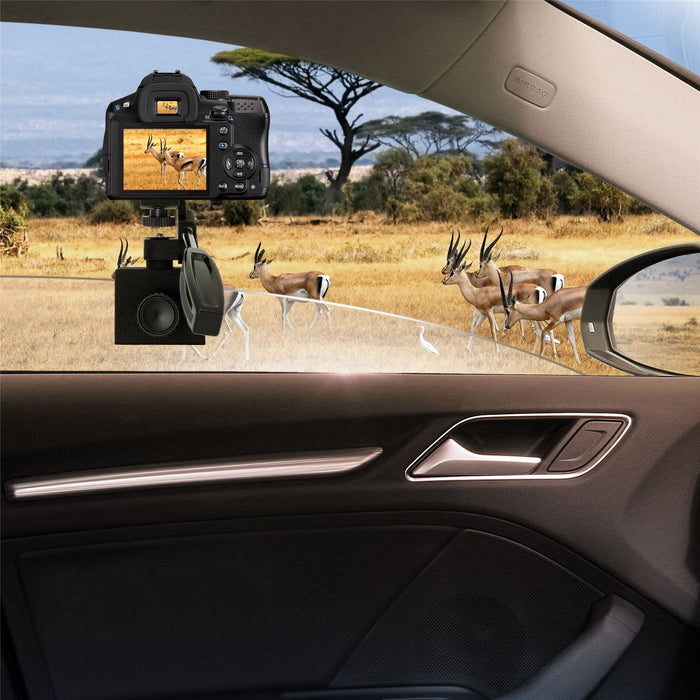 Optix Pro Car Window Clamp Mount for Cameras, Action Cams, Binoculars, Monoculars, Night Vision Scopes & Telescopes