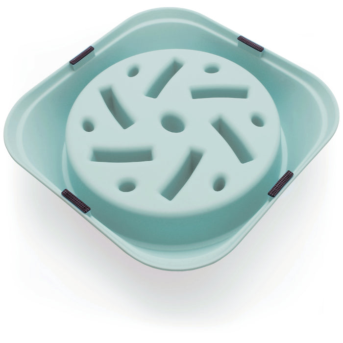 iGadgitz Home Slow Feeder Dog Bowl Interactive Bloat Stop Maze Dog Bowl Pet Cat Puzzle Slow Eating Bowl