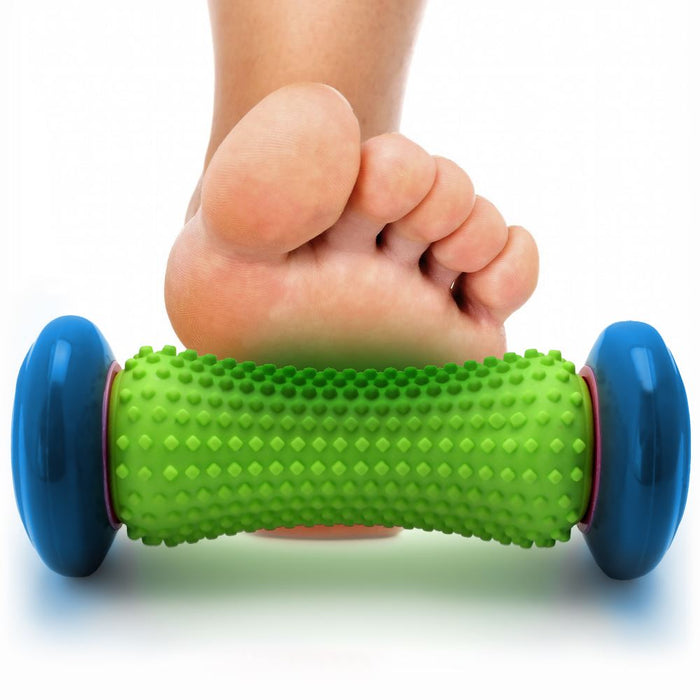 CampTeck U6870 Foot Massage Roller Ergonomic Muscle Roller Stick for Foot Pain Relief & Muscle Rehabilitation