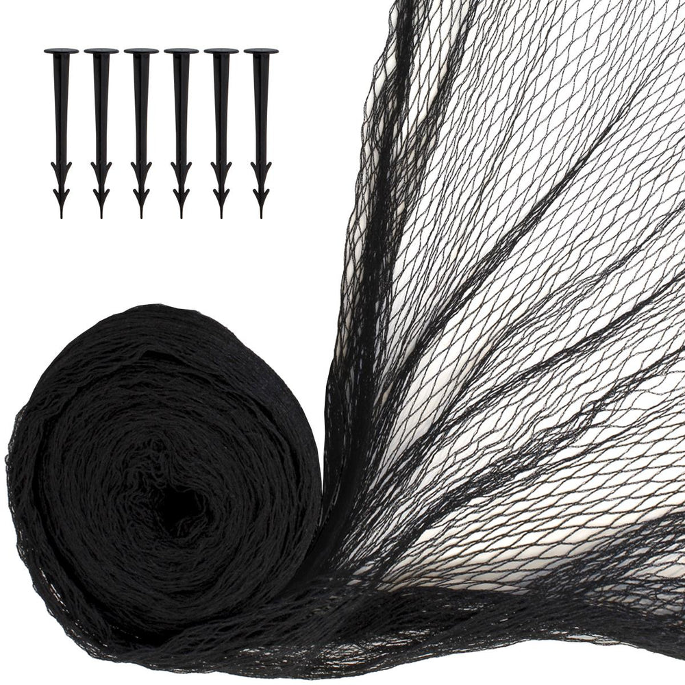 iGadgitz Home Fish Pond Netting with Securing Pegs
