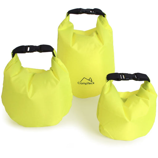 CampTeck Dry Sack Water Resistant Storage Dry Bag for Camping, Rafting, Fishing, Canoeing, Boating, Kayaking etc.
