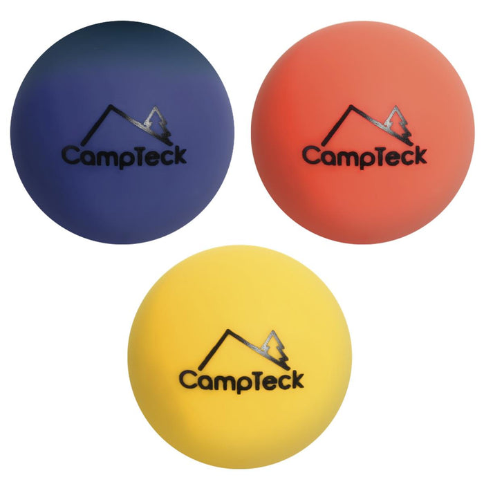 CampTeck Silicone Massage Ball, Trigger Point Balls, Myofascial Ball, Muscle Roller Ball (Soft|Medium|Hard - Set of 3 or Single)