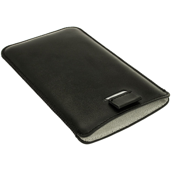 iGadgitz Leather Pouch for Sony Xperia Z1 Honami C6902 L39H C6903 C6906 C6943 (various colours)