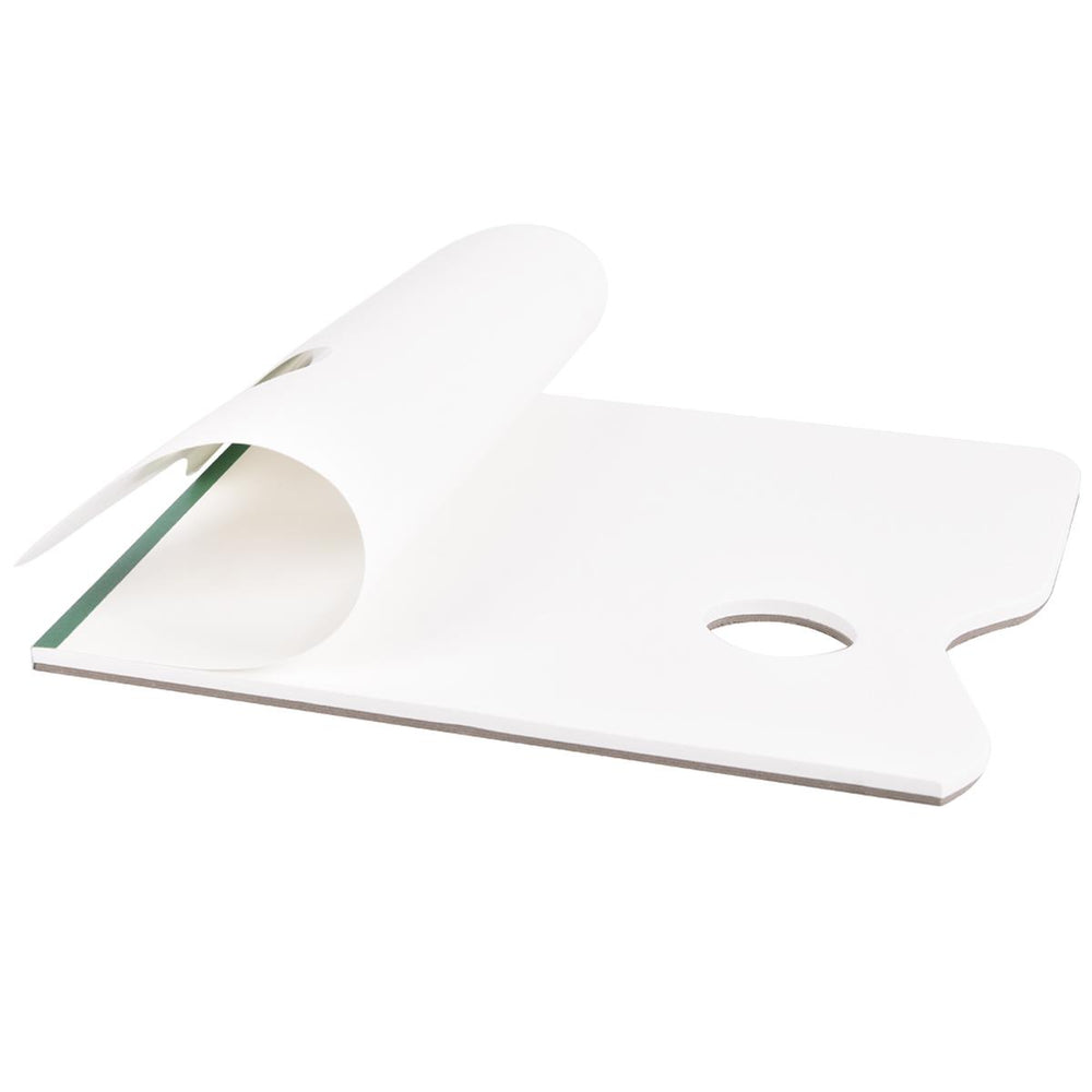 iGadgitz Home U7092 Palette Paper Tear Off Palette Pad Disposable Paint Palette (50 sheet) - White