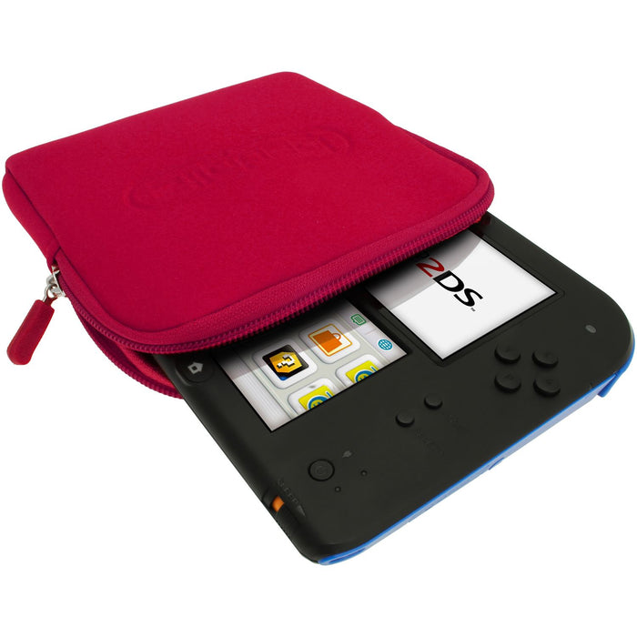 iGadgitz Neoprene Sleeve Protective Travel Pouch Carry Case Cover for Nintendo 2DS (various colours)