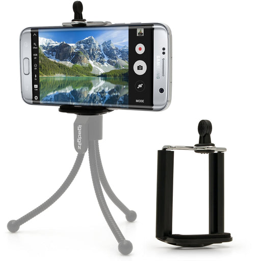 iGadgitz Mobile Phone Mount Bracket Adapter Holder for Tripods, Monopods & Selfie Sticks