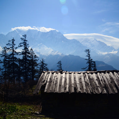 The Story of How We Met: Knives, Knitting and the Himalayas