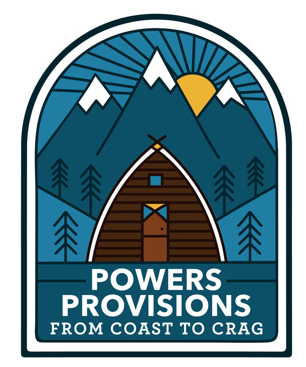 Powers Provisions A-Frame Sticker