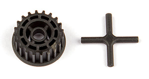 ASC31787 TC7.2 SPUR GEAR PULLEY & DIFF X-PIN