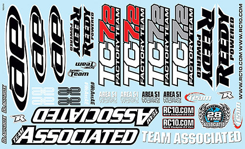 ASC31810 TC7.2 DECAL SHEET