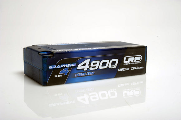 LRP HV STOCK SPEC SHORTY GRAPHENE 4 - 4900mAh - 7.6V LiPo - 135C/65C