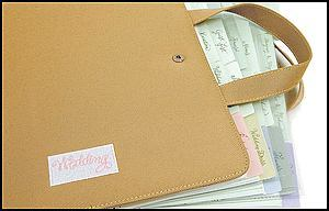 "Planner Book - ""The Ultimate Wedding Organizer"""