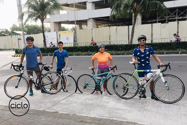 Ciclo Cycling Apparel Beginner Routes - SM Mall of Asia Seaside Boulevard