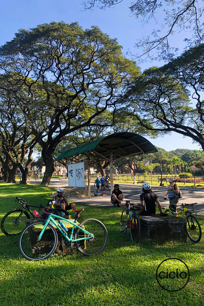 Ciclo Cycling Apparel Beginner Bike Routes - University of the Philippines Academic Oval