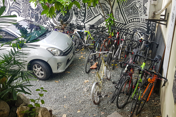 Bike Parking Spaces in Metro Manila