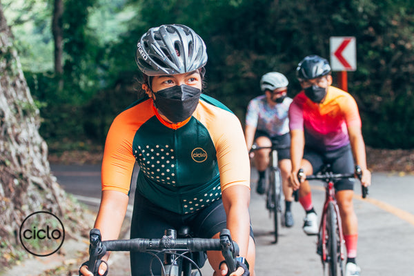 Ciclo Cycling Apparel Cyclists Riding Their Bikes
