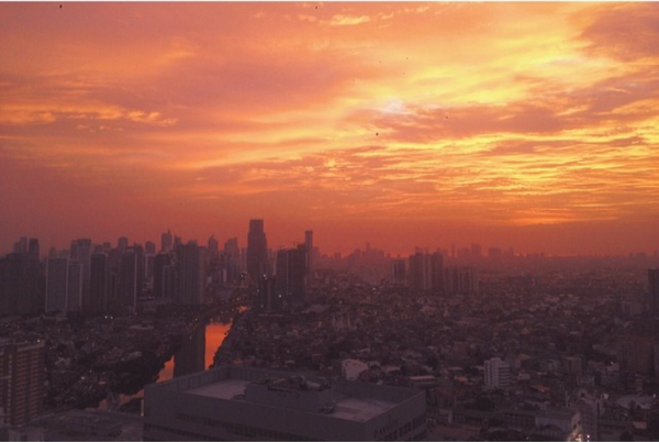 Pasig River Sunset View from Pioneer