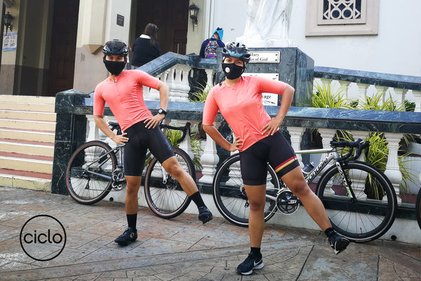 Ciclo Cycling Apparel - Safe Cycling COVID 19