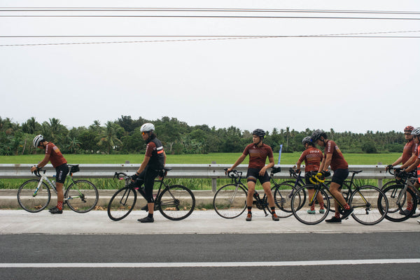 Cyclists from Team Loyola. Photo by Sara Erasmo