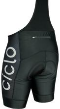 Load image into Gallery viewer, Ciclo Men's Classic Black Bib Shorts
